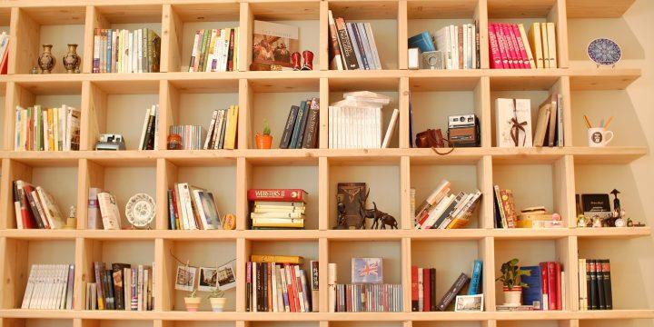 6 idées pour une bibliothèque pratique